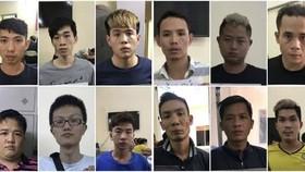 12人組成的詐騙團夥。(圖源:黃新)