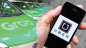 "Grabcar 須標明""電子網約車""字樣。(示意圖源:互聯網)"