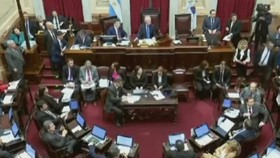 阿根廷參議院否決墮胎合法化法案。(圖源:互聯網)