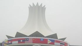 2005年作者首次參加第二屆中國-東盟博覽會的報導工作。