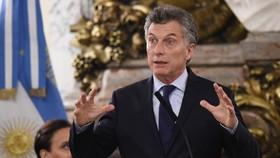 阿根廷總統馬克里。(圖源:AFP)