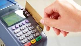 刷卡支付。