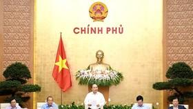 政府總理阮春福主持例會。(圖源:VGP)