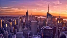 美國十年來首次登頂全球競爭力排行。圖為美國紐約一瞥。(圖源:互聯網)
