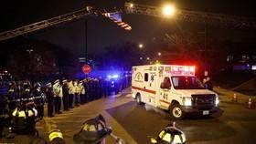 美國伊利諾州芝加哥慈愛醫院(Mercy Hospital)20日發生槍擊事件,造成4人喪生。(圖源:AP)