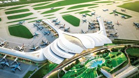 隆城機場 2020 年底動工興建。圖為隆城機場效果圖。(圖源:互聯網)