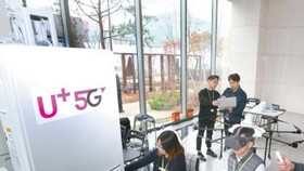 韓國三大電信運營商SK電訊(SK Telecom)、韓國電信(KT)和LG U+(LG Uplus)共同啟用的5G服務。(圖源:互聯網)