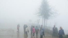 最低氣溫是諒山省牧山峰僅2度。(圖源:明慧)