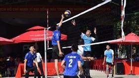 同塔省與柬埔寨波蘿勉省體育交流活動。(圖源:互聯網)