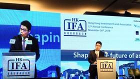 財經事務及庫務局副局長陳浩濂表示,本港將可繼續連接內地與世界,除了作為企業「走出去」的跳版,亦可內地引入外國投資。(圖源:互聯網)