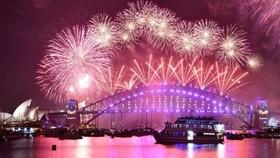 悉尼港上煙花成為了迎接新年的標誌。(圖源:互聯網)