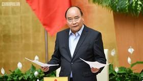 阮春福總理在會上致詞。(圖源:VGP)