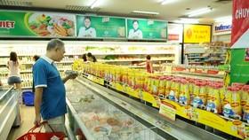 輔助企業商品進超市。(示意圖源:互聯網)