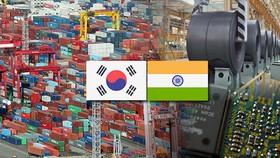 韓國與印度2018年雙邊貿易額達到215億美元,同比增長7.5%。(圖源:Song Ji-yoon)