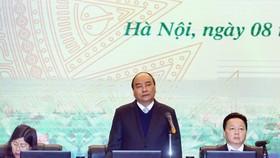 政府總理阮春福在會上發表指導意見。(圖源:越通社)