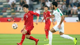 越南隊與伊朗隊的比賽。(圖源:互聯網)