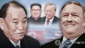 韓聯社1月15日消息稱,從美國國務卿蓬佩奧的日程安排來看,蓬佩奧很可能在17-18日與金英哲舉行會談。(圖源:韓聯社)