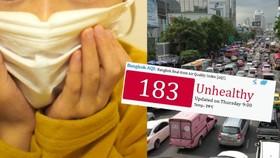由於霧霾嚴重,空氣質量進一步惡化,泰國教育部1月30日下令,首都曼谷及周邊地區所有公立和私立學校在明後兩天、即1月31日和2月1日全部停課。(圖源:互聯網)
