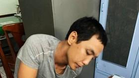 被抓獲的竊匪阮寶英。(圖源:PLO)
