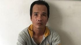 被抓獲的劫匪阮晉興。(圖源:公安機關提供)
