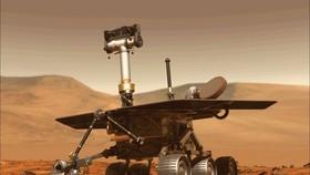 在超期效力了15年、失聯約8個月後,NASA正式宣佈「機遇號」火星探測車任務結束。(圖源:NASA)