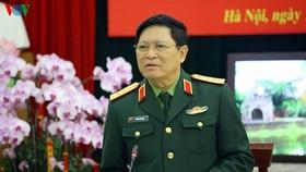 國防部長吳春歷大將:不論在任何情況下,不得處於被動狀態。(圖源:VOV)