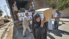 歐盟當地時間20日宣佈向伊拉克提供5000萬歐元援助,用於人道主義援助和發展合作。(圖源:EU Humanitarian Aid)