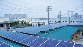 預計北部各省太陽能電價最高。(示意圖源:互聯網)