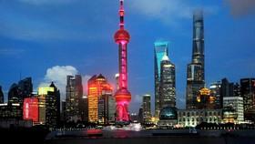中國今年 GDP 預計增長 6% 至 6.5%。圖為中國上海浦東一瞥。(示意圖源:互聯網)
