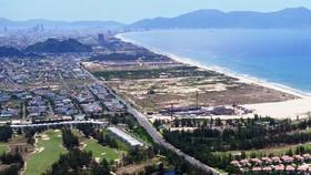 從今年春節至今,峴港市地價不斷被土地仲介抬高。圖為峴港市沿海一瞥。(圖源:互聯網)