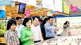確保無公害食品是Saigon Co.op連鎖超市的優先選擇。