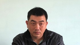 涉嫌侵吞ACB銀行巨款而被拘押的嫌犯阮友凱。(圖源:BĐO)