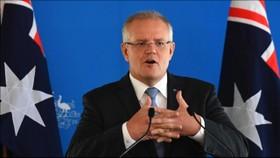 """澳大利亞總理莫里森呼籲G20國家之間達成一個加強互聯網監管的""""全球協議""""。(圖源:Getty Images)"""