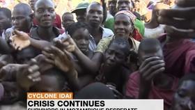 """聯合國兒童基金會(兒基會)呼籲國際社會提供更多支持,以幫助和保護受強熱帶氣旋""""伊代""""影響的兒童,同時採取措施防止霍亂等疾病暴發。(圖源:視頻截圖)"""