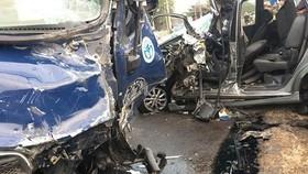 事故現場。(圖源:Infonet)