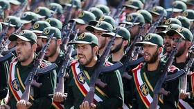伊朗革命衛隊在閱兵。(圖源:互聯網)