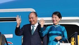 政府總理阮春福與夫人將從本月14日起對羅馬尼亞與捷克共和國進行正式訪問。(圖源:越通社)