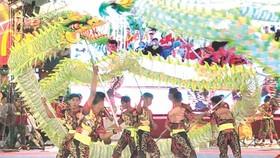 同奈省石山黃麟堂比賽節目。
