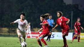越南-黎巴嫩比賽一瞥。(圖源:互聯網)