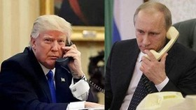 俄羅斯總統普京與美國總統特朗普3日通電話,就雙邊及國際問題進行討論。(圖源:互聯網)