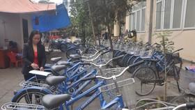 市研究發展院向市人委建議試行開發共享單車系統。(示意圖源:互聯網)