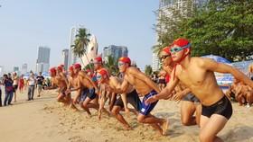 海邊救護比賽活動。(圖源:互聯網)