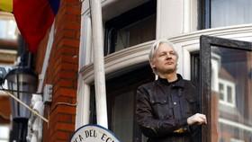 躲藏在厄瓜多駐倫敦大使館內長達6年的阿桑奇。(圖源:AP)