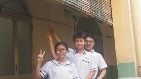 (左起)葉永欣、關建燊和謝俊賢。