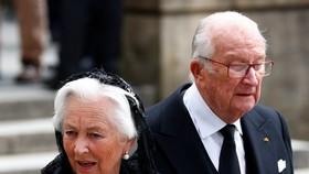 阿爾貝與保拉王后(Queen Paola)於1959年結婚,育有兩子一女。(圖源:路透社)