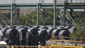 圖為墨西哥蒙特利的一家鋼廠。(圖源:互聯網)