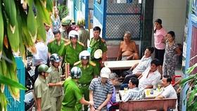 警方逮捕一名此前犯罪嫌疑人。(圖源:志石)