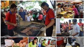 是次有來自中部、南部及西原各單位、企業等登記53個展位以展銷豐富的特產和美食。(示意圖源:蓮潭文化公園)