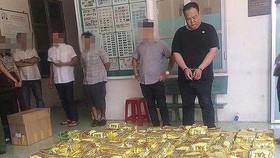 市公安廳最近破獲一起特大販毒案,繳獲毒品1.1噸毒品。(圖源:警方提供)