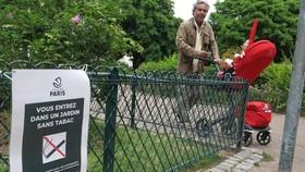 巴黎 52所公園和廣場全面禁煙。(圖源:巴黎人報)